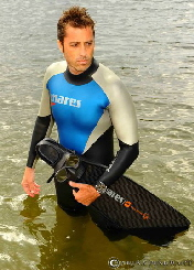 Christian Redl , World Champion in Freediving